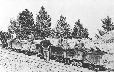 Empire mine 300 level early 1900s