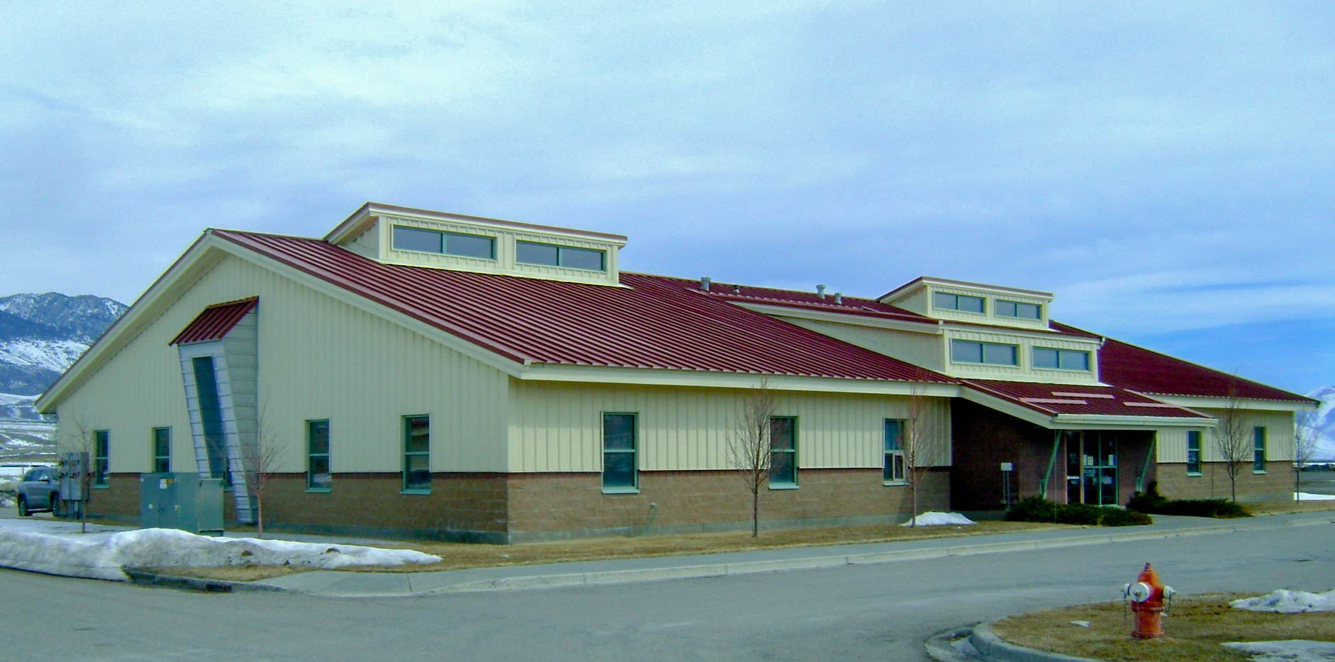 Office and core store in Mackay, Idaho