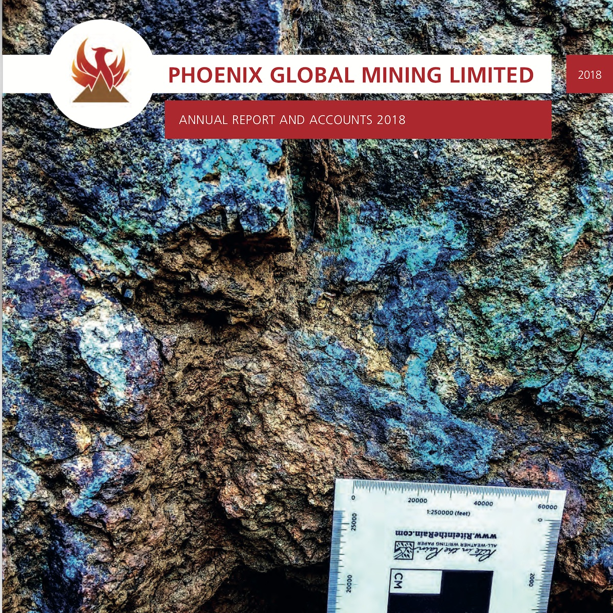 Phoenix Global Mining Limited Annual Report and Accounts 2018 - Phoenix Global Mining Ltd is pleased to announce its audited results for the year ended 31 December 2018.