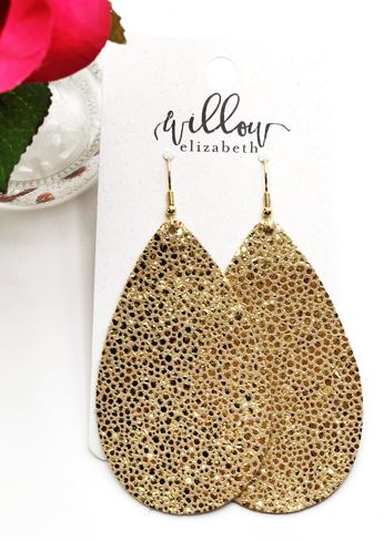 Pixie Dust - All you need is faith, trust, & pixie dust! This new gorgeous gold sparkle leather is perfect for special occasions, or if you just want to feel fancy!