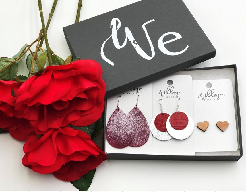 Valentine's Box Set - The ultimate gift, complete in a gift box with a ribbon. If you can't tell your spouse what your ONE favorite pair is, be sure to show 'em the box!