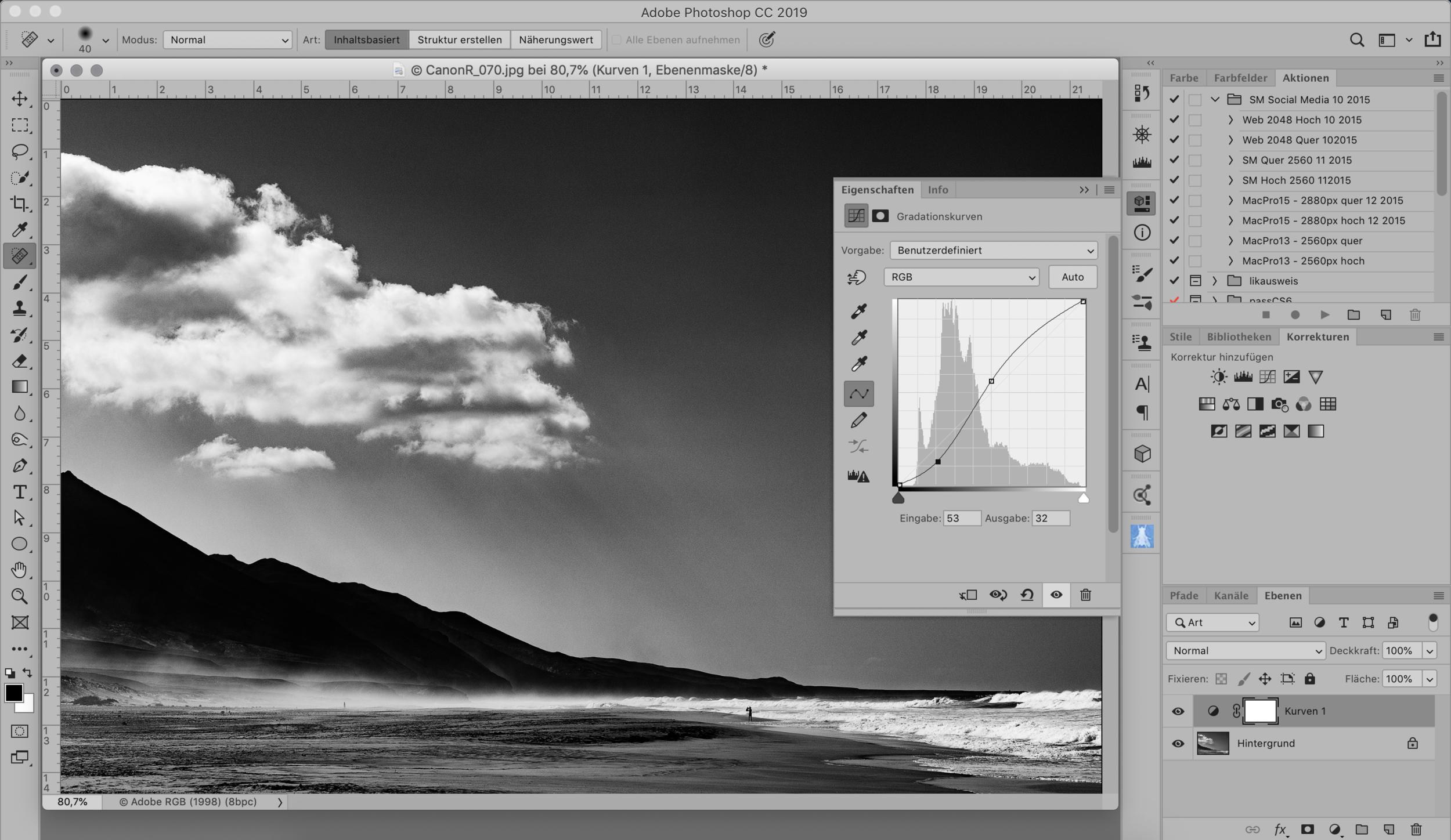Adobe Photoshop CC Online lernen