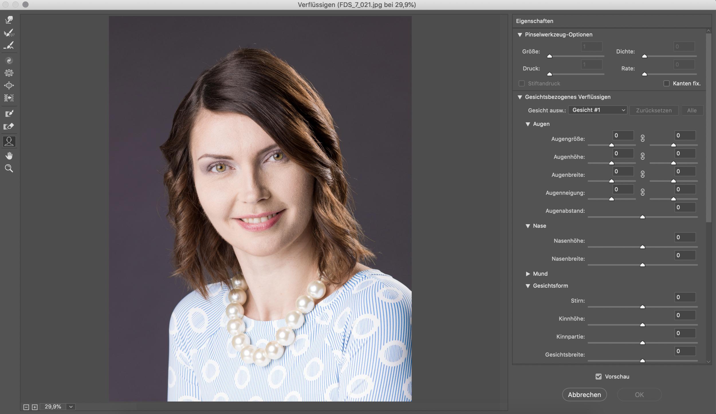Portraitretusche mit Lightroom, Raw und Photoshop   Online lernen ...
