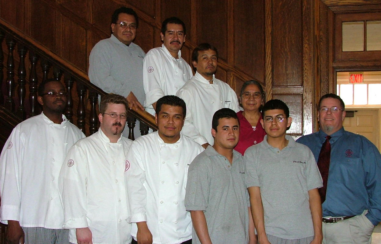 Cap and Gown Staff circa 2005