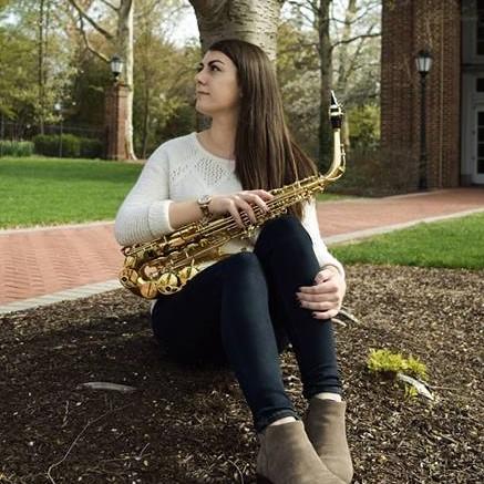 Senior Music Management Major on Saxophone, 4+1 MBA Graduate Student