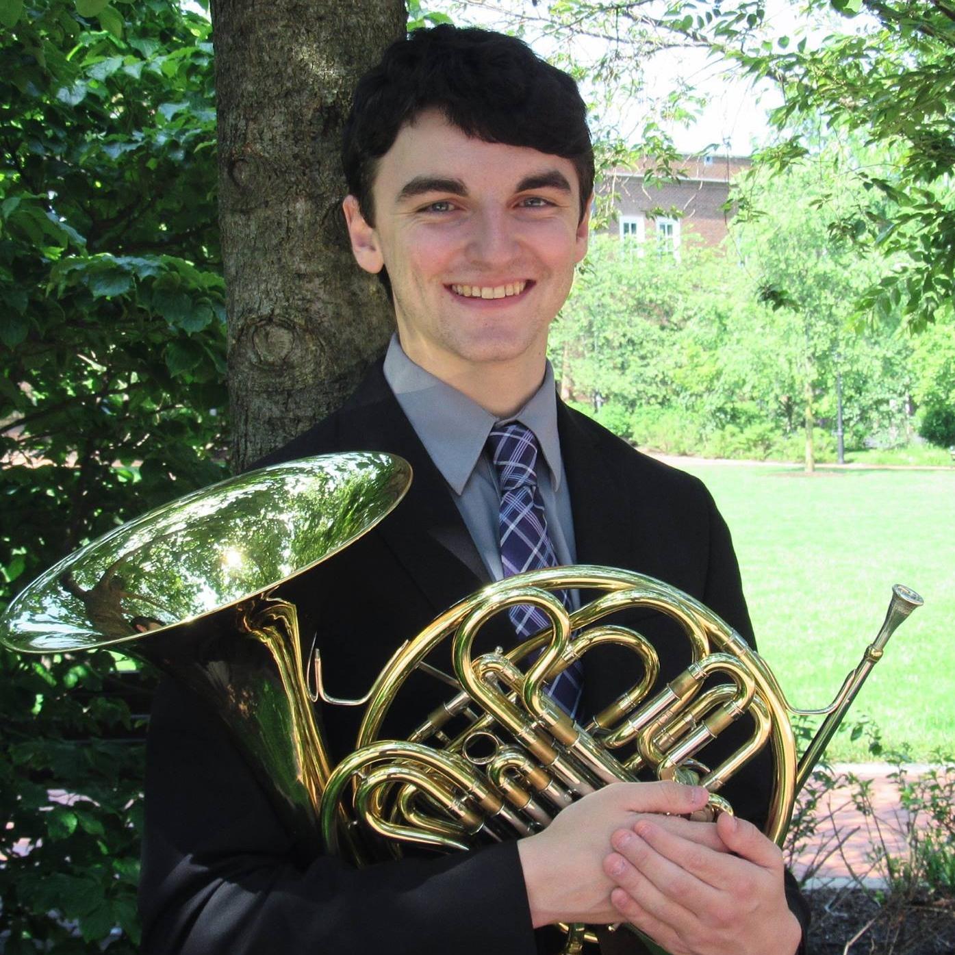 Senior Music Education Major on Horn