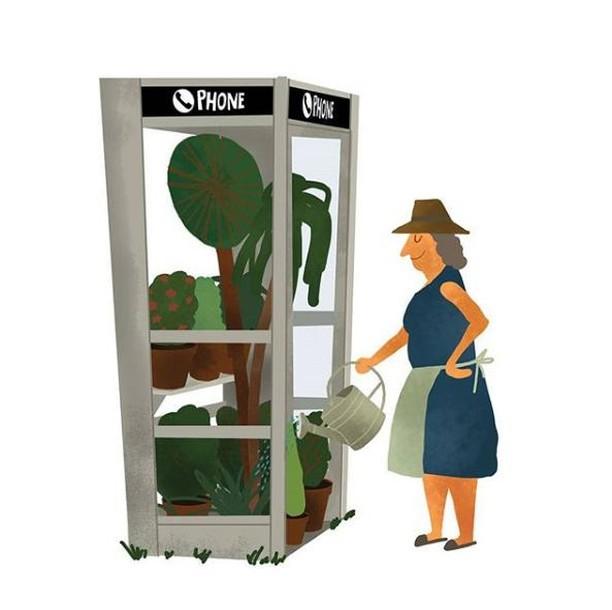 taking care of public space⠀ buon venerdì⠀ @maximdalton⠀ .⠀ .⠀ .⠀ .⠀ .⠀ #bottegabotanica #ilpollicenerononesiste #urbanjunglebloggers #urbanjungle #houseplant #thejungalow #houseplants #greenisthenewblack #plantofinstagram #curadellepiante #botanicalpickmeup #plantladyisthenewcatlady #plantlady #greenery #plantsmakepeoplehappy #pileapeperomioides #fridaymood #desert #cactus #friday #publicspace #interiorrewilding #fridaymood #UrbanJunglePlant #houseplantclub #plantsarefriends #plantstyling #plantparenthood #apartmentbotanist #illustration⠀