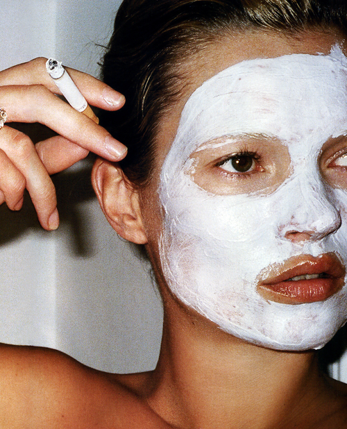 """File under / Cult Classics      """"Feel Your Face Pulsate""""  is literally the back panel copy on this,  """"The World's Most Powerful Facial.""""           I mean I don't really know that I can add a lot to that brilliance … except to say:  if you love a mud mask, buy this value tub of cult magic, add some water, drop some beats, and feel the pulse.     Does This : Deep pore cleansing mud mask, amazing value   Is This :   Aztec Secret Indian Healing Clay     Get This :  Drugstore.com   Price : $7.50 for 1 lb. - just saying     Image: Mario Testino  via"""