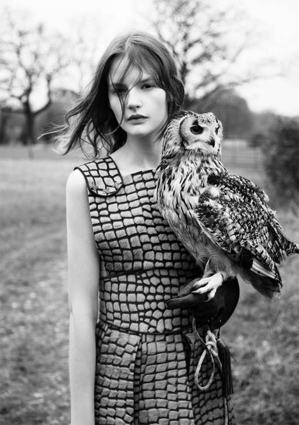 If you like owls and all natural, handcrafted balms of all kinds  from a brand you've (probably) never heard of,  please visit my post on Gloss Daily!    I'm happy to announce I'm a new contributor there, where you can find treasures from my Cult Cabinet once a month.    Image via:  Twin Mag