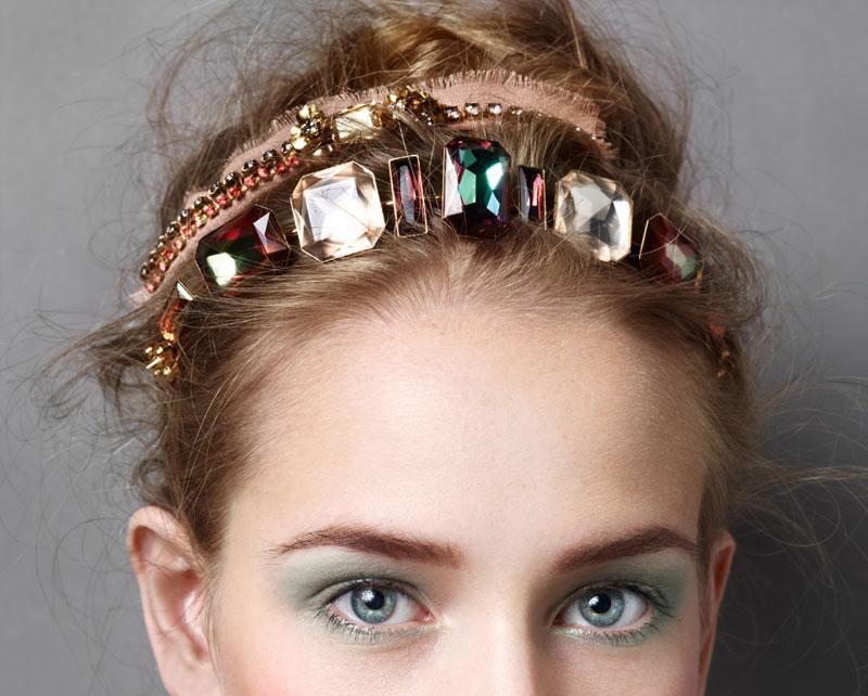 New Year's Eve headgear  inspiration.    Image:  Madame Figaro