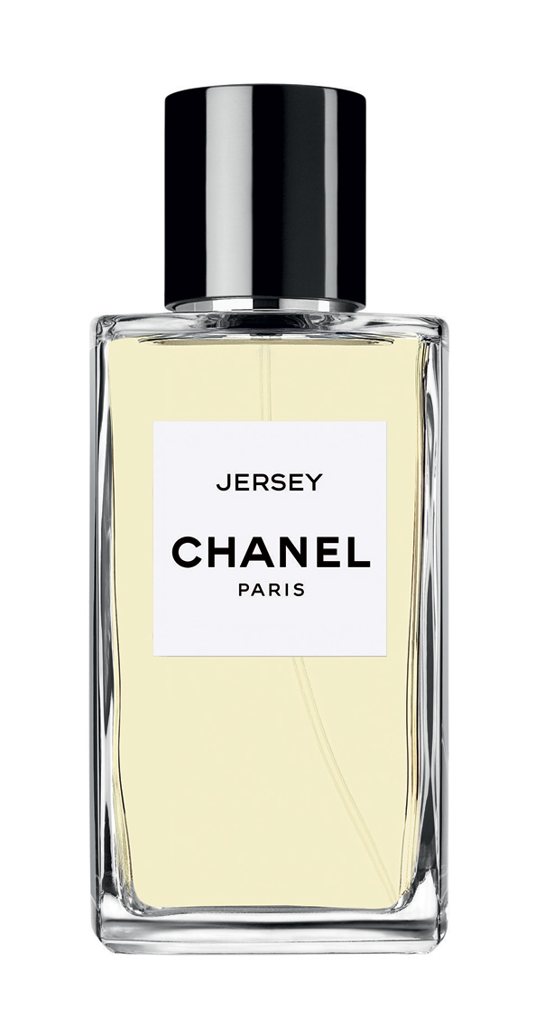 I've been listening to a ton of Bruce lately (Tunnel of Love much?) so I think I might have to pick some of this up.    Does this : A clean, sweet lavender with vanilla and musk - inspired by Chanel's favorite  state  fabric  Is this :     Les Exclusifs de Chanel - Jersey    Get this : Above     Price : $110.00 (2.5 oz), $210 (6.8 oz)
