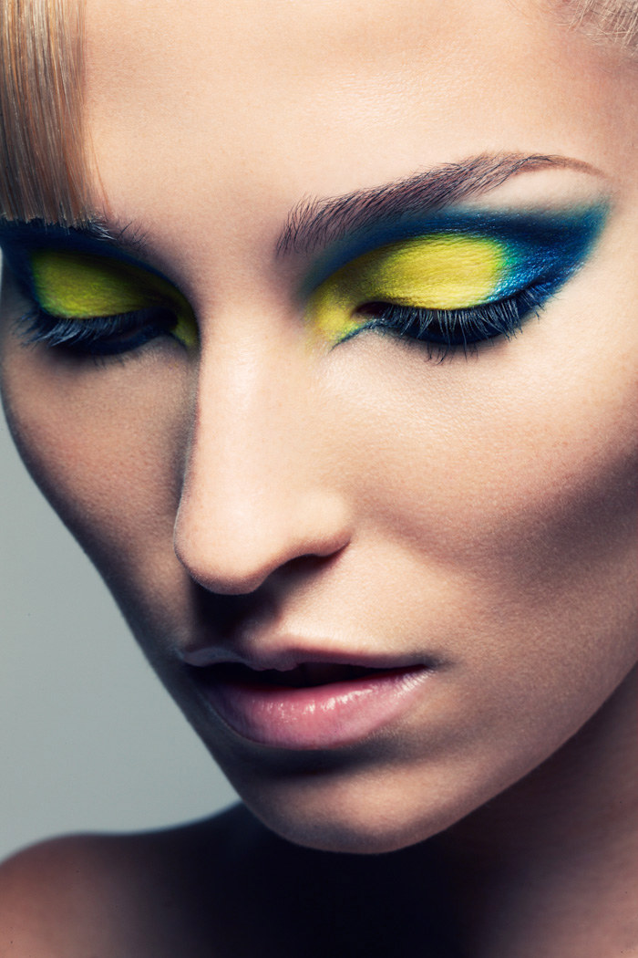 Yes to this.     Image: Jeff Tse; makeup by Beau Nelson, rest is  here  - some amazing hair too!