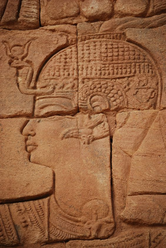 Nubian carving (if you're curious about Nubia,    read here   )