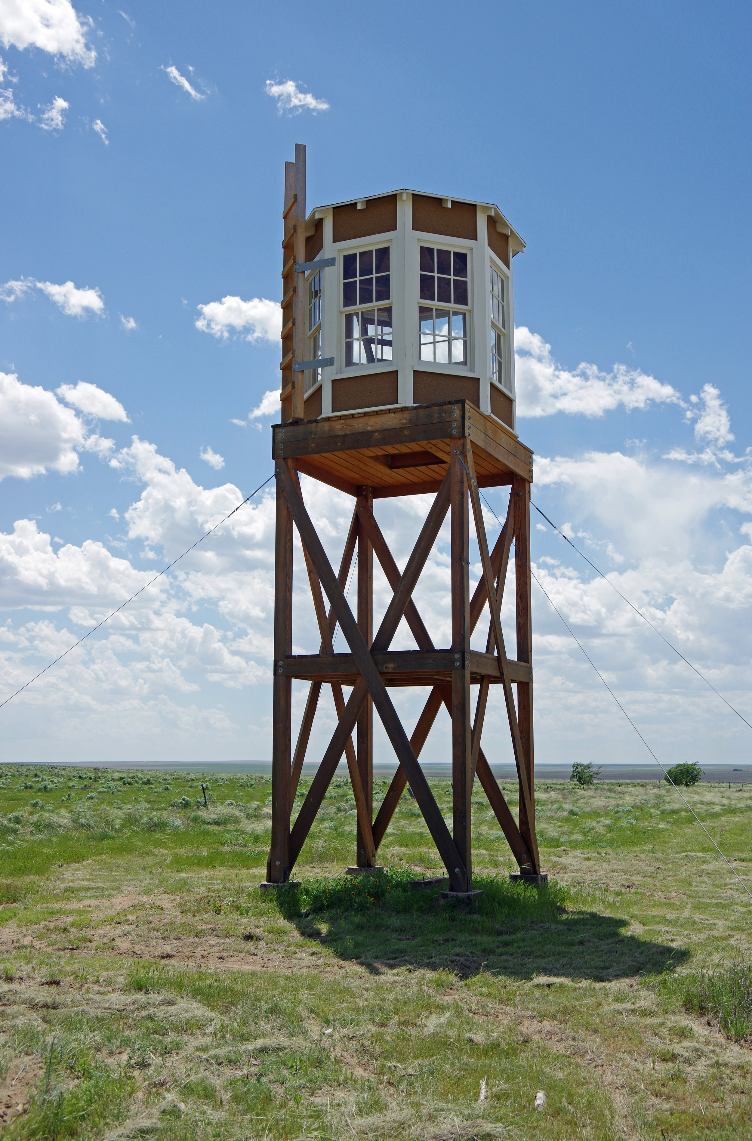 Guard Tower at Camp Amache, 2016. Photo Courtesy of Elaine.
