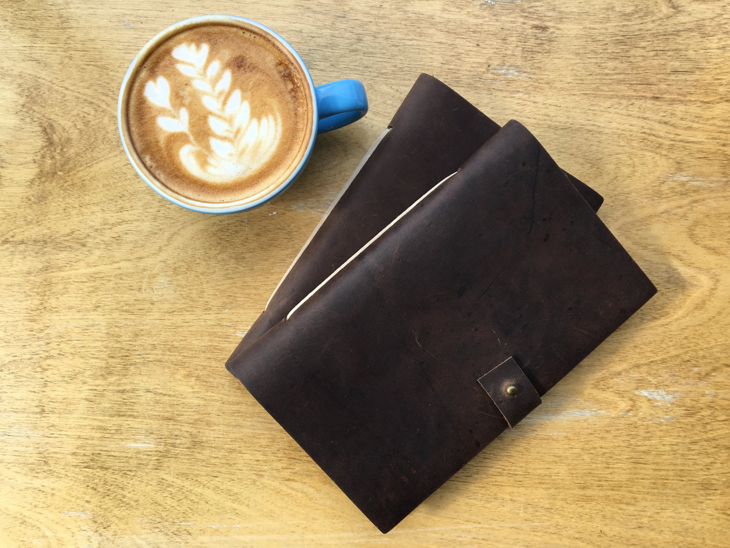Unbound - Hand-made leather notebooks inspired by a rugged lifestyle and a drive to explore, dream and create