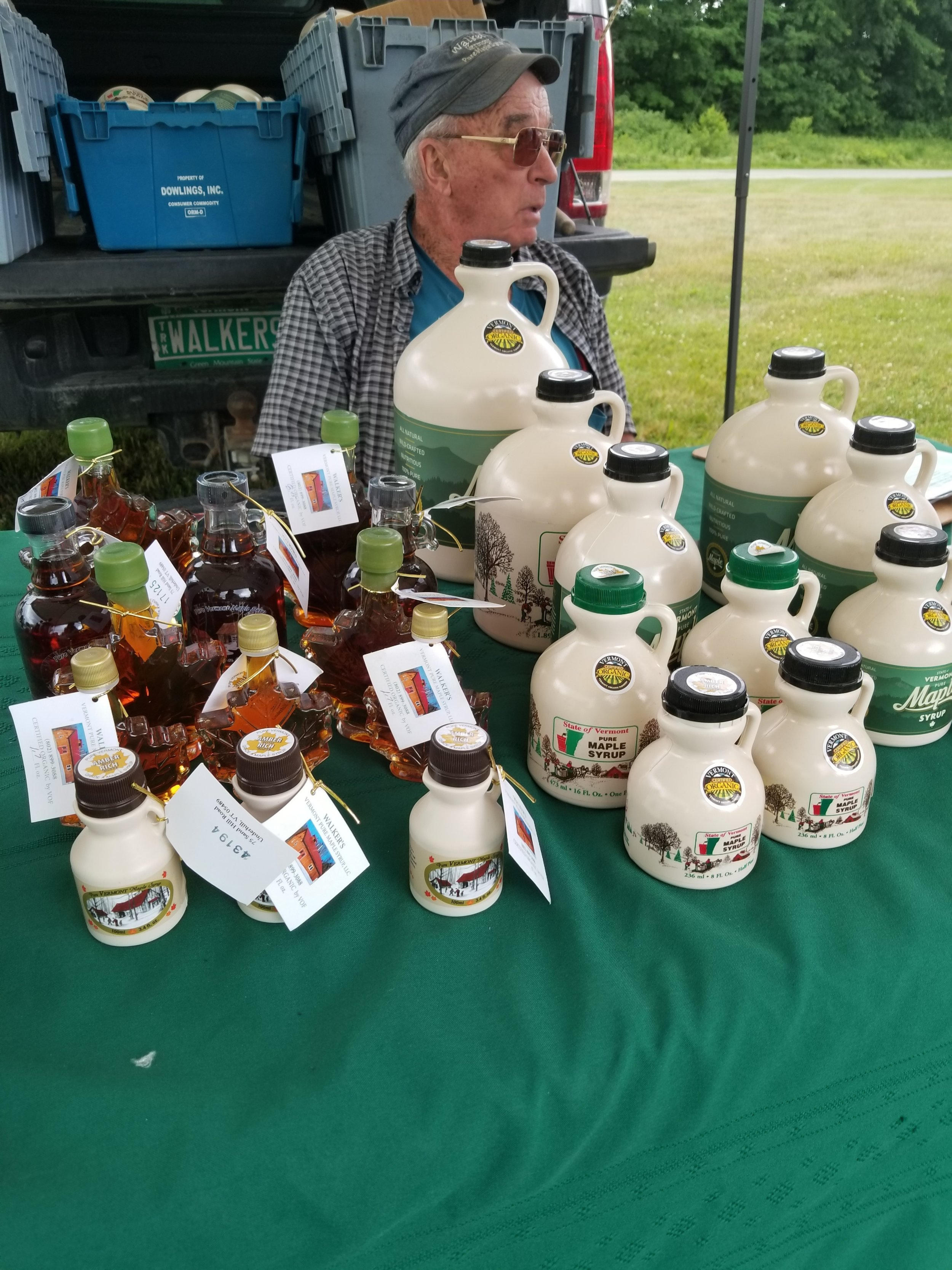 Walker's Maple Syrup - Organic Vermont Maple Syrup made in Underhill for 3 generations