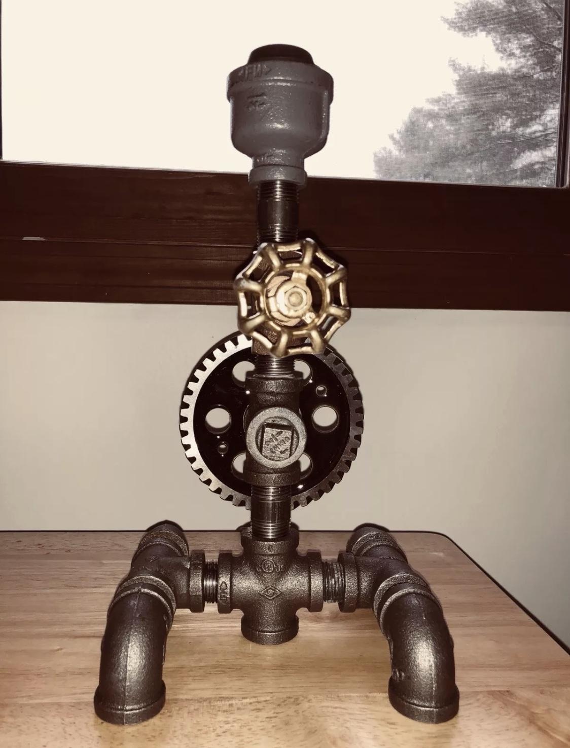 Gerry Conlon - Steampunk Lamps