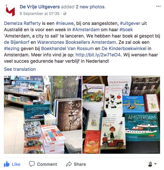 De Vrije Uitgevers August 2017