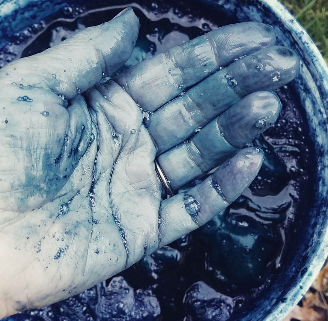 "GETTING OUR HANDS ""DIRTY"" WITH INDIGO"
