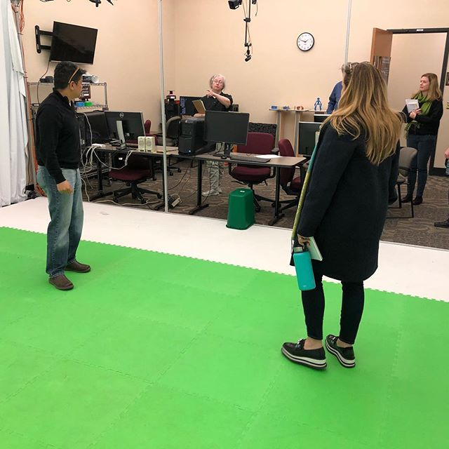 Did you know #richlandcollege Has a motion capture studio? Big possibilities here for collaboration between visual arts, dance, and gaming. #exciting #possibilities #videogalore
