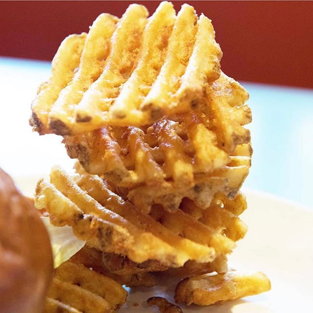 Waffles fries on a Friday? ✅