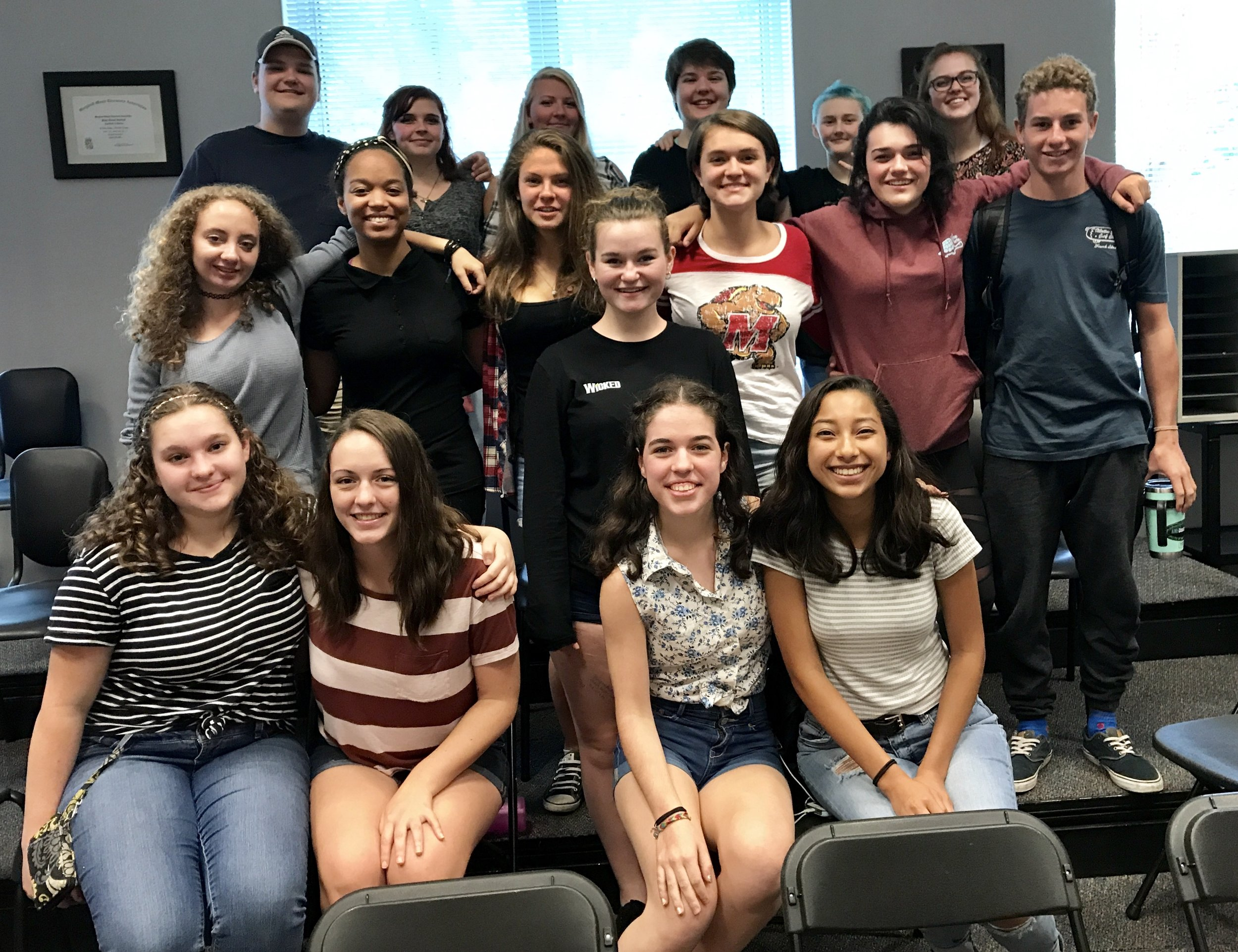 2017-2018 Maryland State Thespian Officers