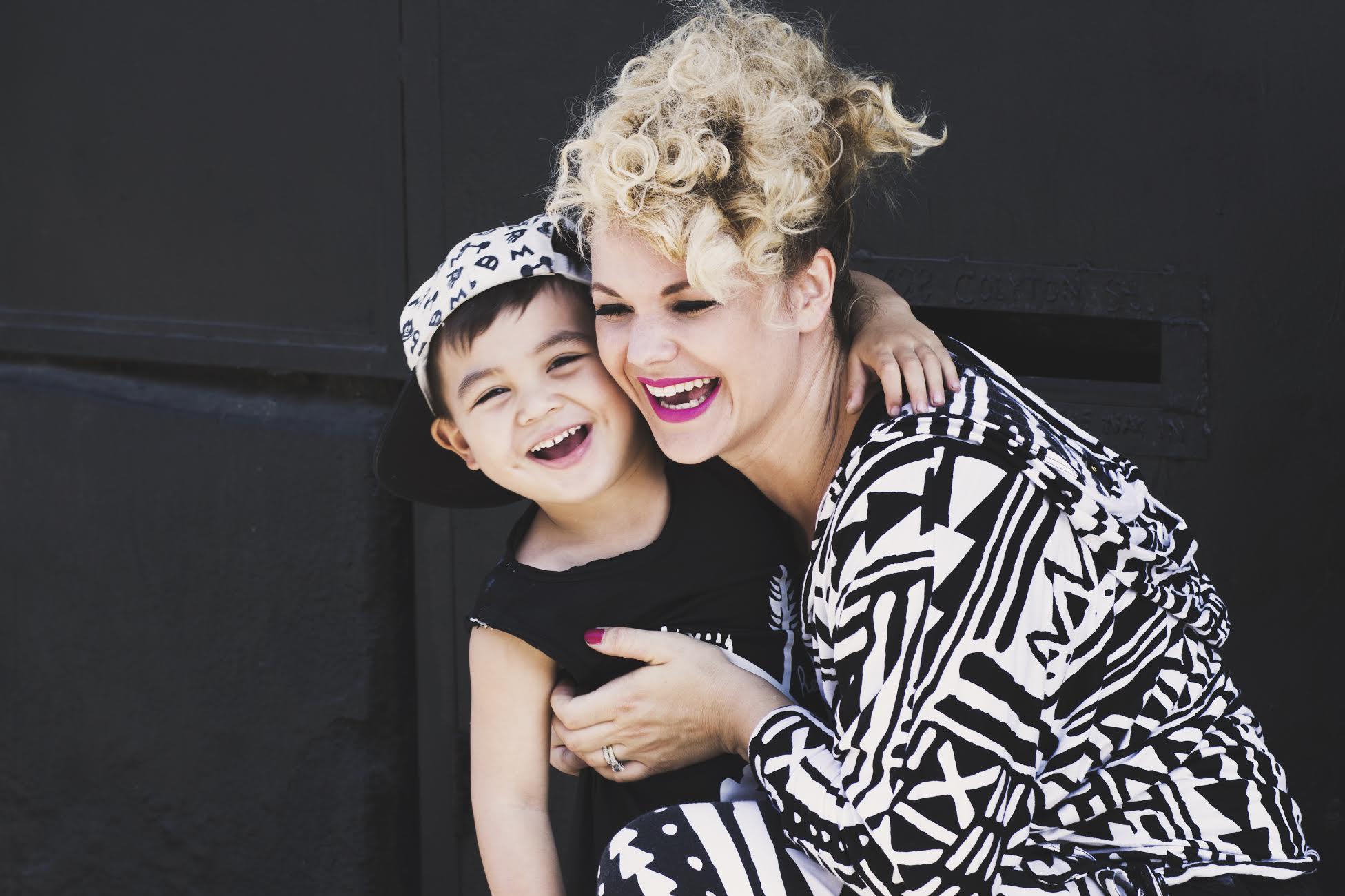 Stefanie Klausmann with her son, Marlo (Pictured here at 3yrs. old) - Photography by SMAC
