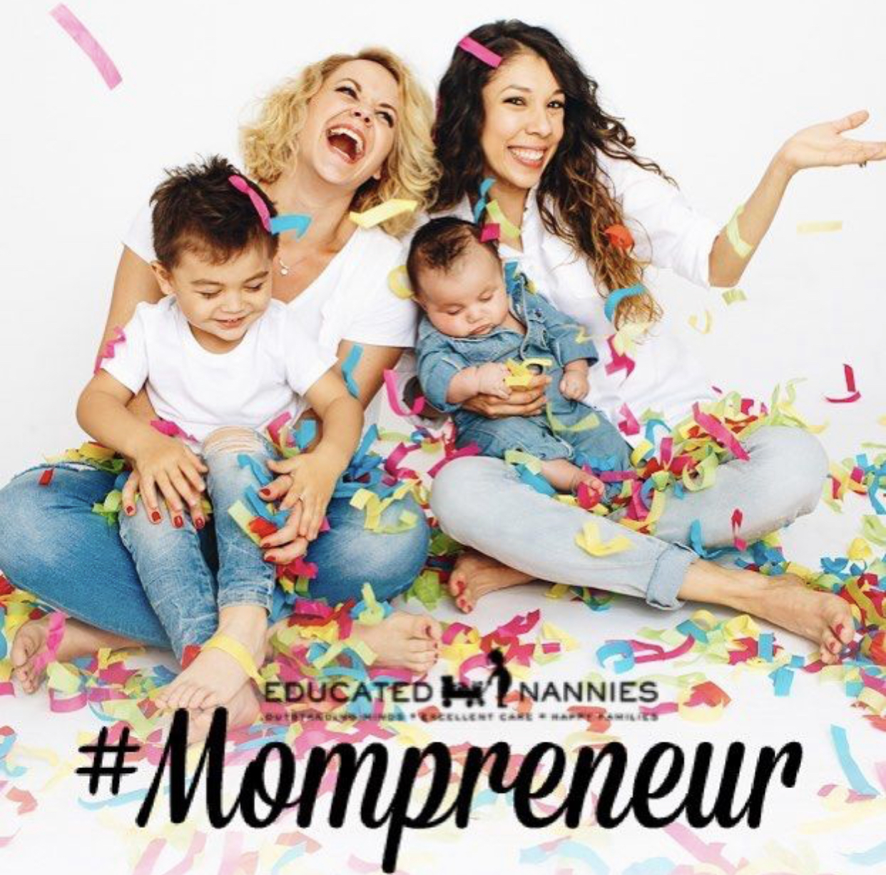 Named #mompreneurs by Educated Nannies -