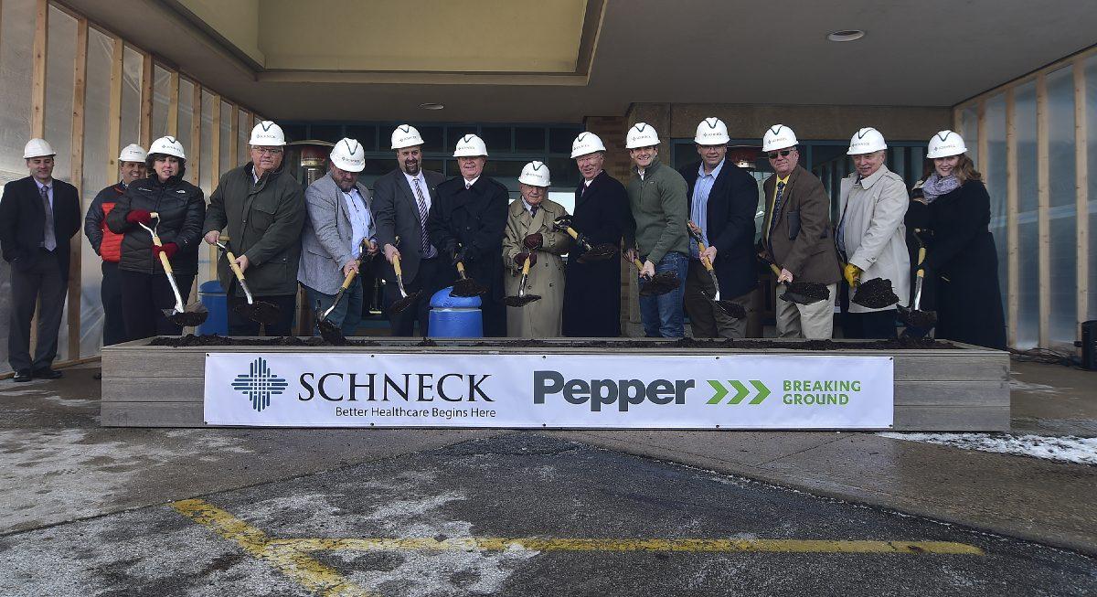 Healthcare prgram development.CCIp facilitation.onsite safety support - Schneck Medical Network - Schneck Medical Center Expansion