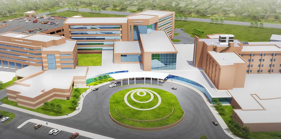 Healthcare Program DevelopmentCCIP FacilitationOnsite Safety Support - Community Health Network -Community Hospital East Renovation