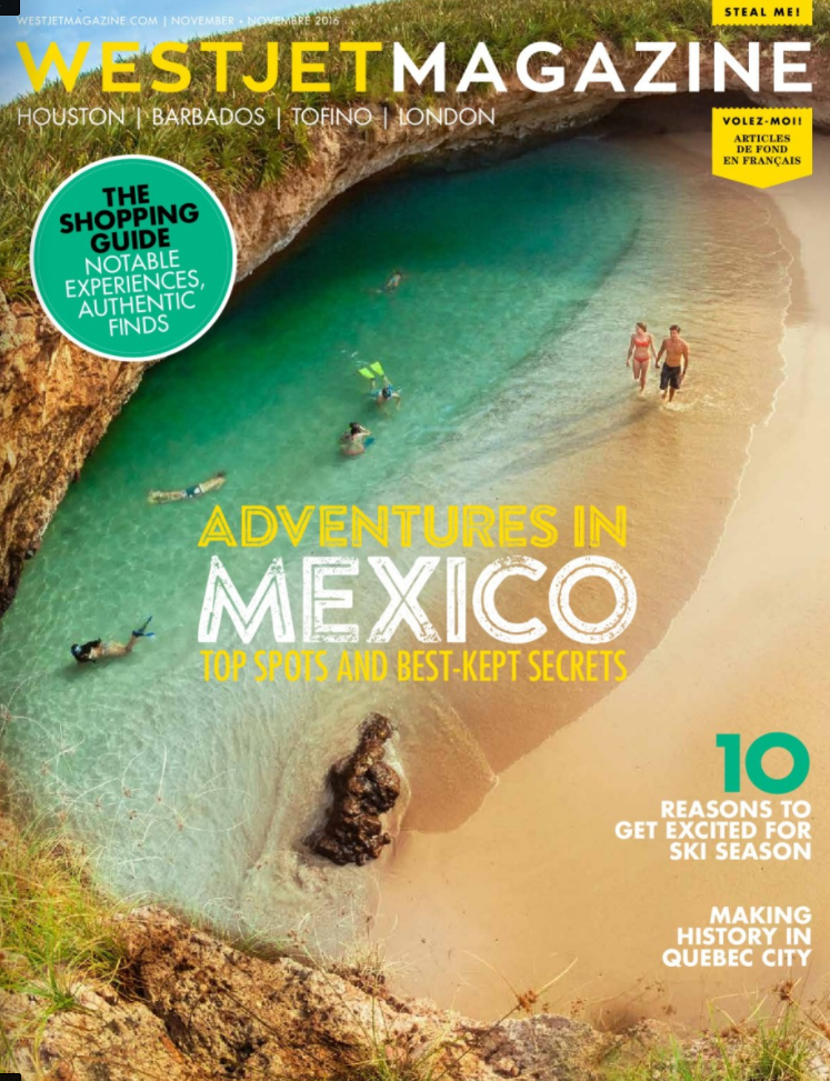 WESTJET Magazine features the Dominican Republic