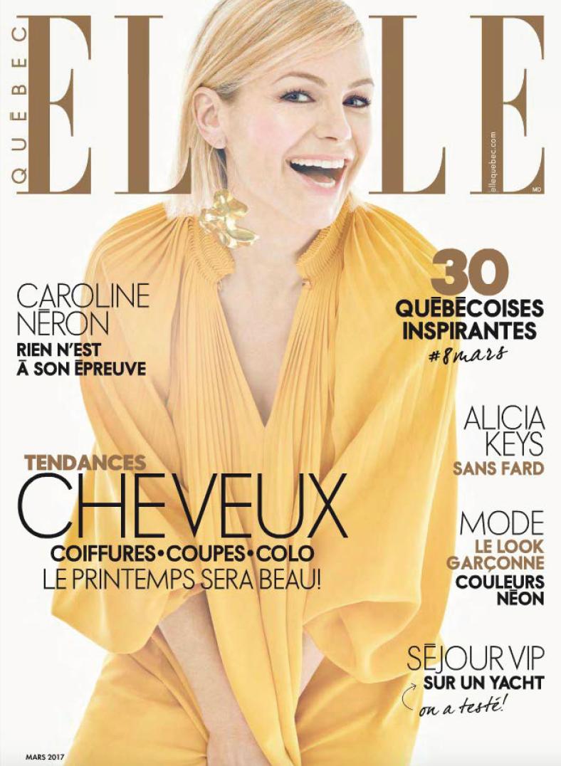 ELLE Quebec features TradeWinds