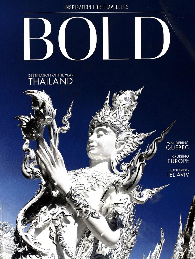 BOLD Magazine features Auberge Saint-Antoine