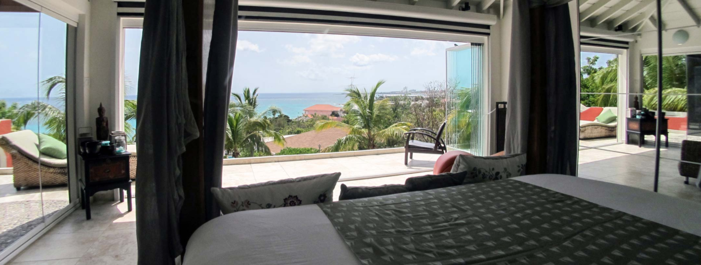 TradeWinds: Pelican Villa: Bedroom Ocean View