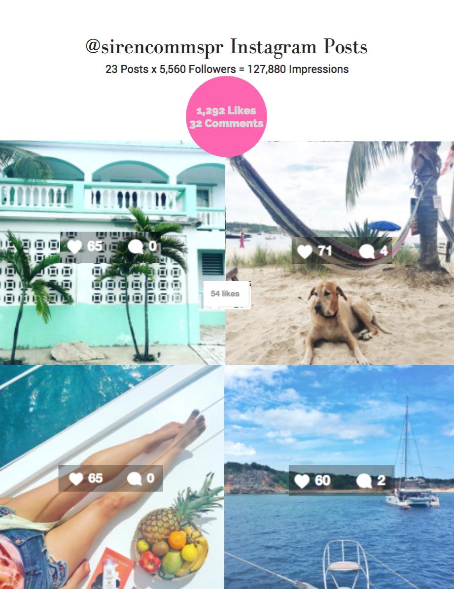 @sirencommspr Instagram: TradeWinds Social Media Trip
