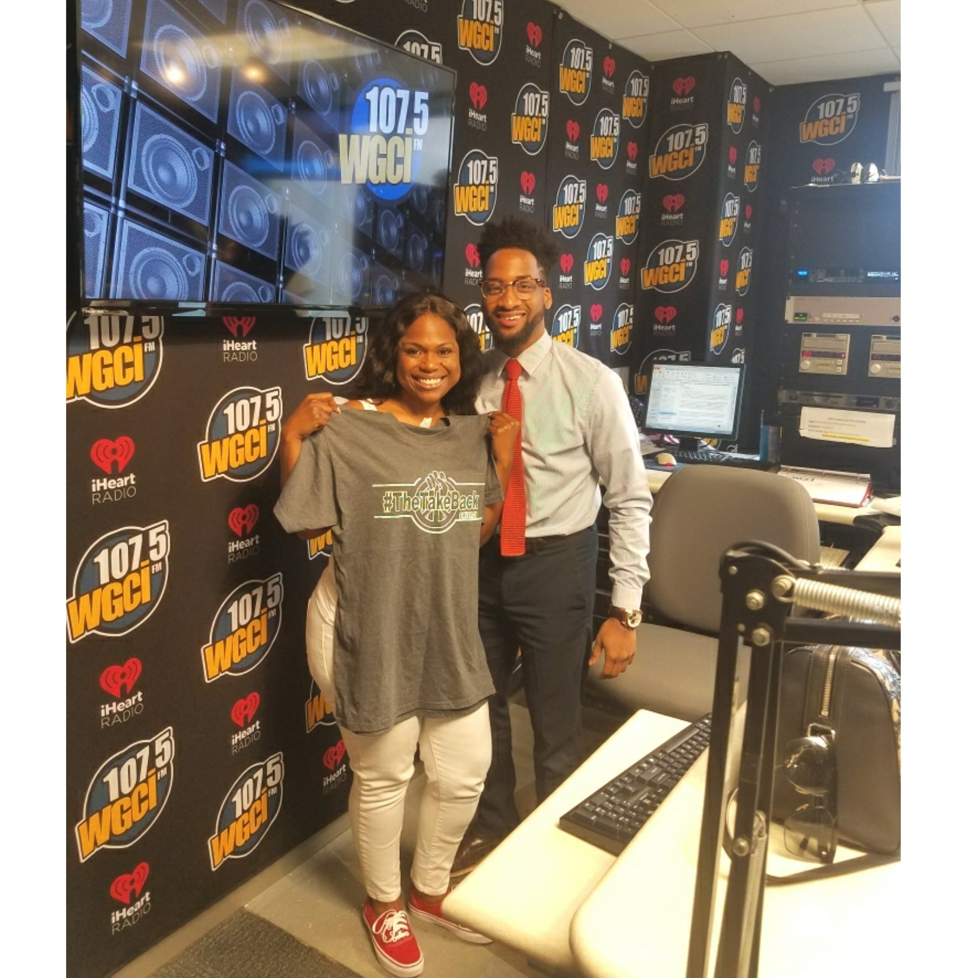 107.5 WGCI Radio Interview