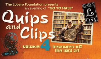 Quips & Clips shows at Lobero Theatre