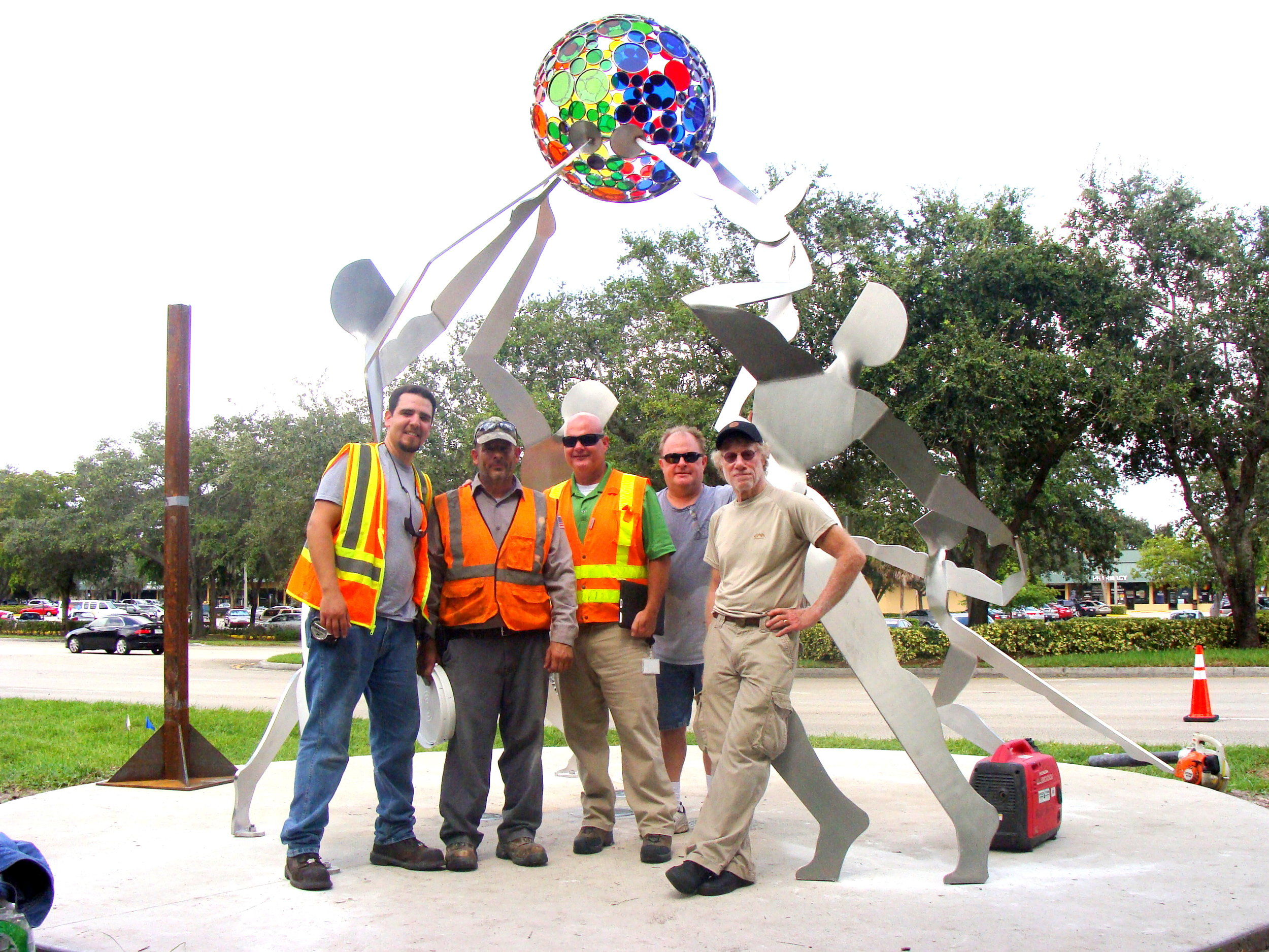 Canneto with Coral Springs Installation crew.JPG