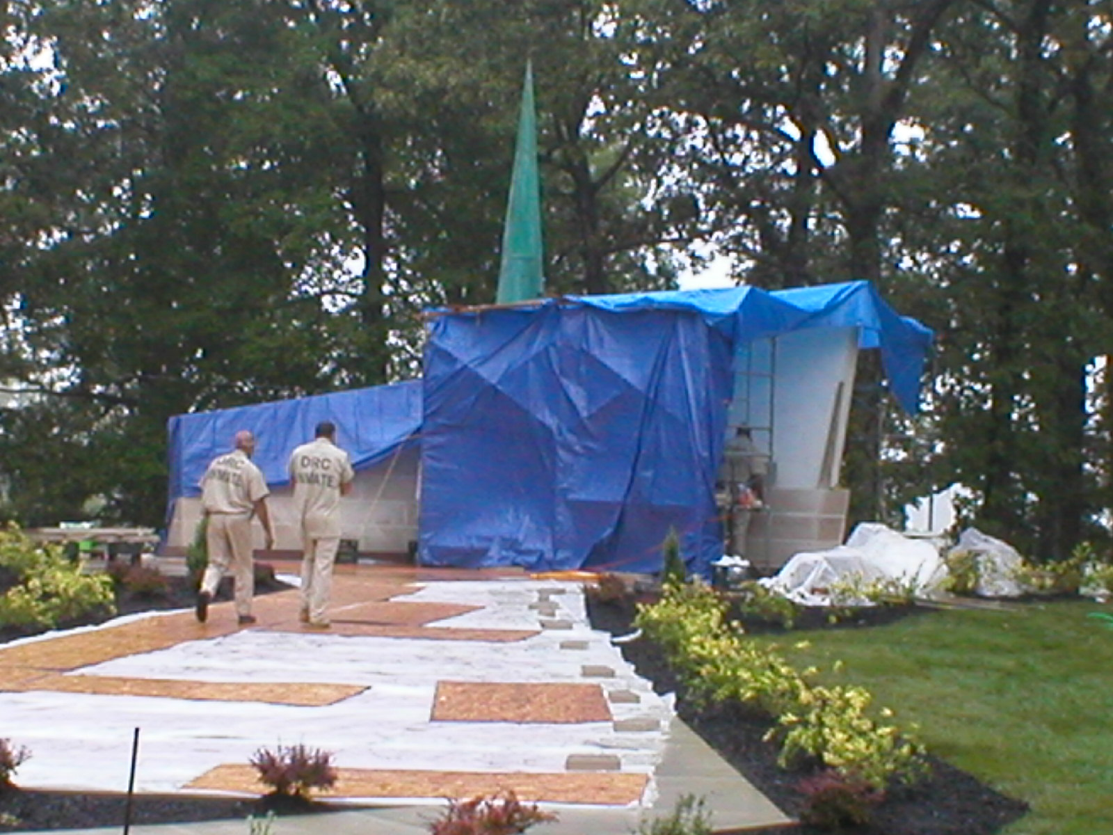 Lucasville memorial walk construction walk.jpg