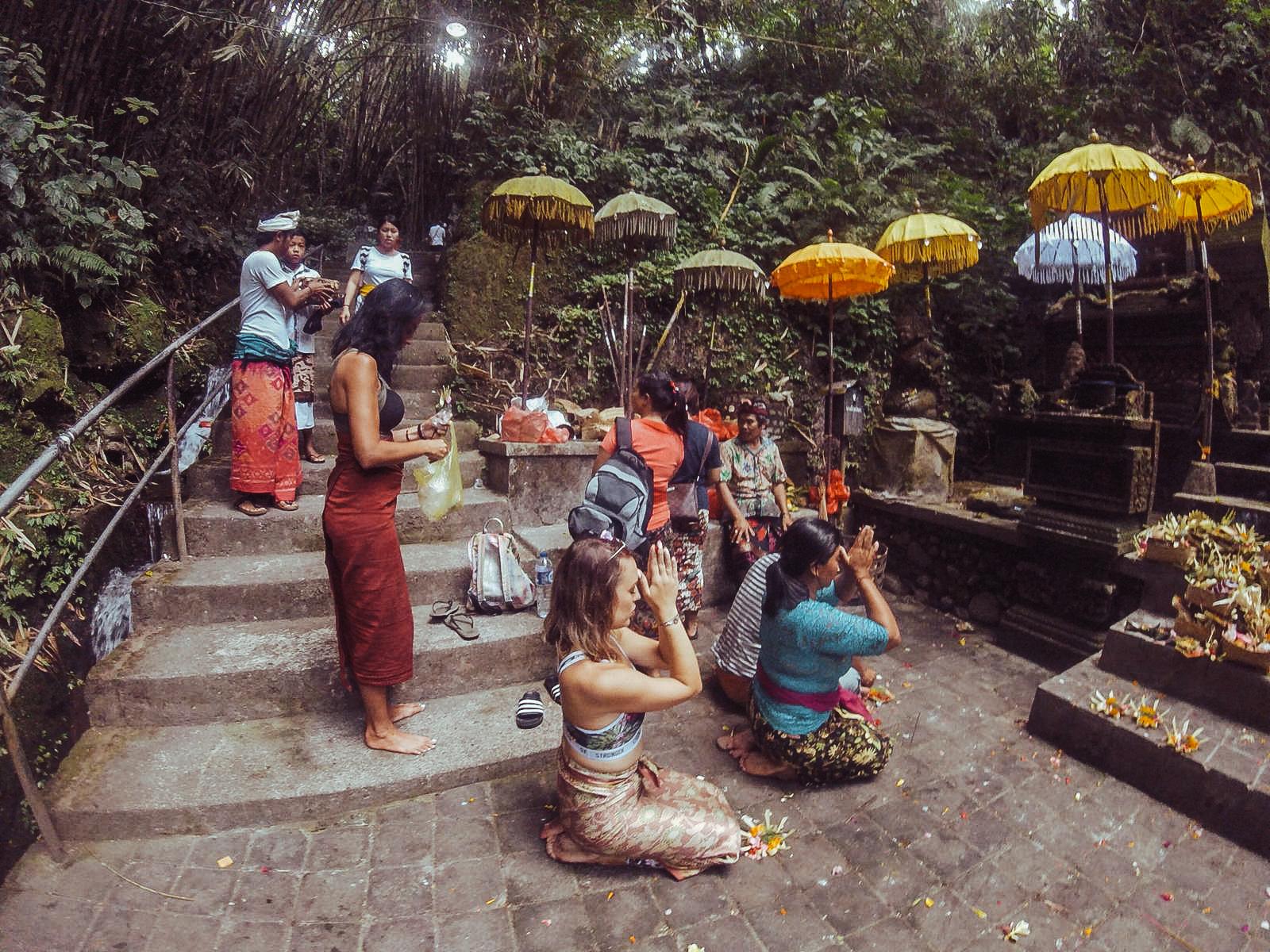 Water purification ceremony - Bali - Ubud