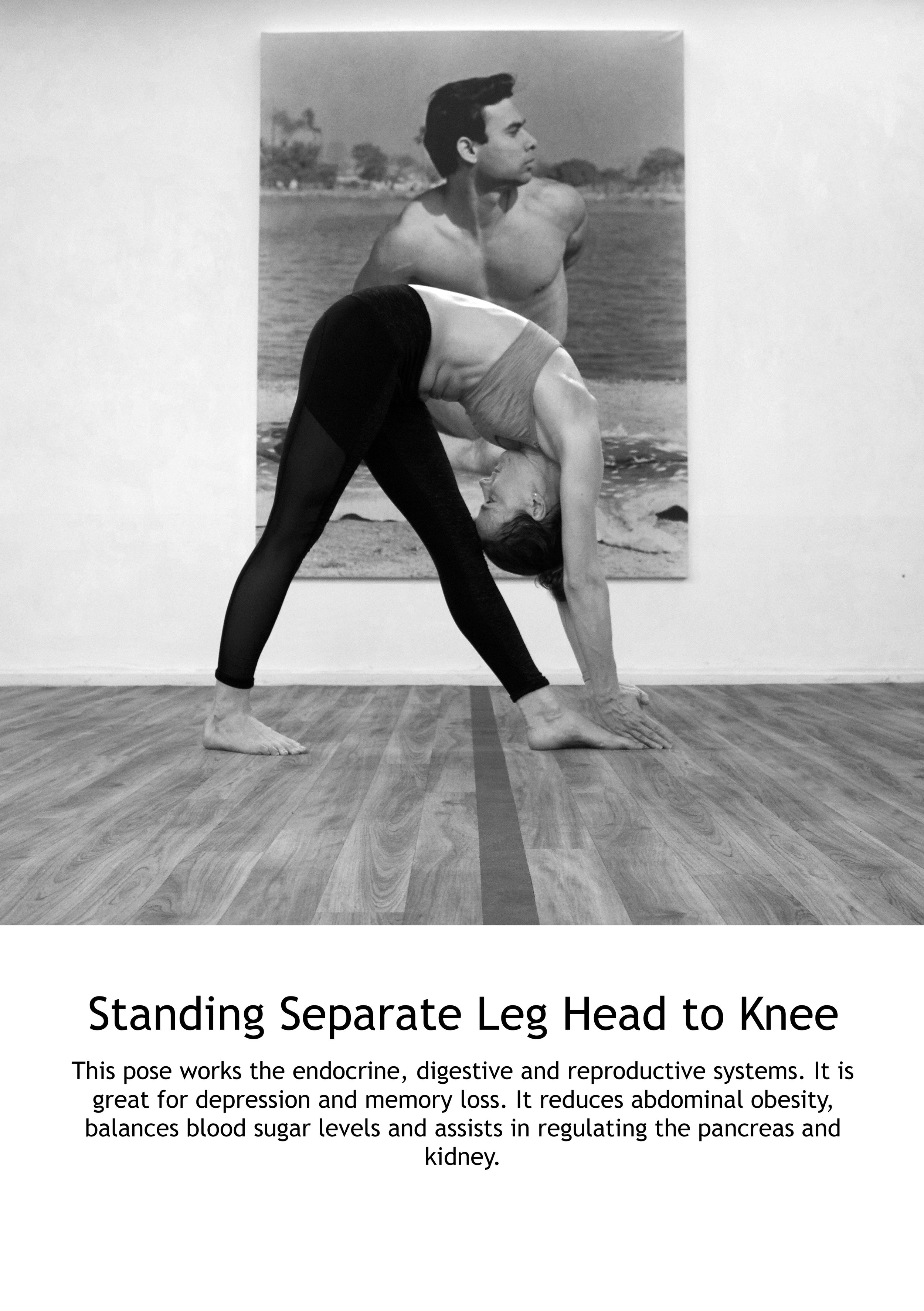 Standing Separate Leg Head to Knee