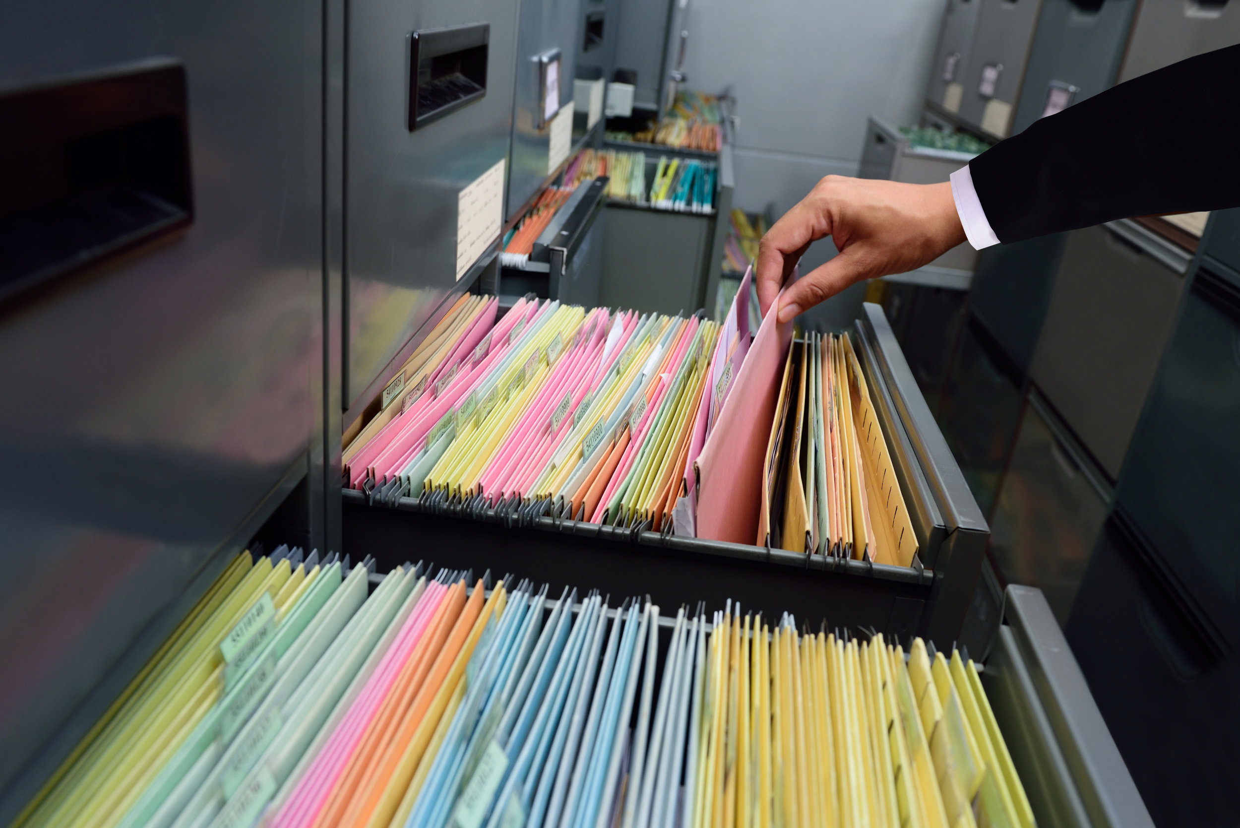 At UPMA we keep paper records of all transactions and holdings.