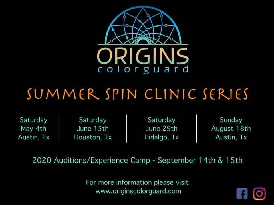 Summer Spin Clinics — Origins