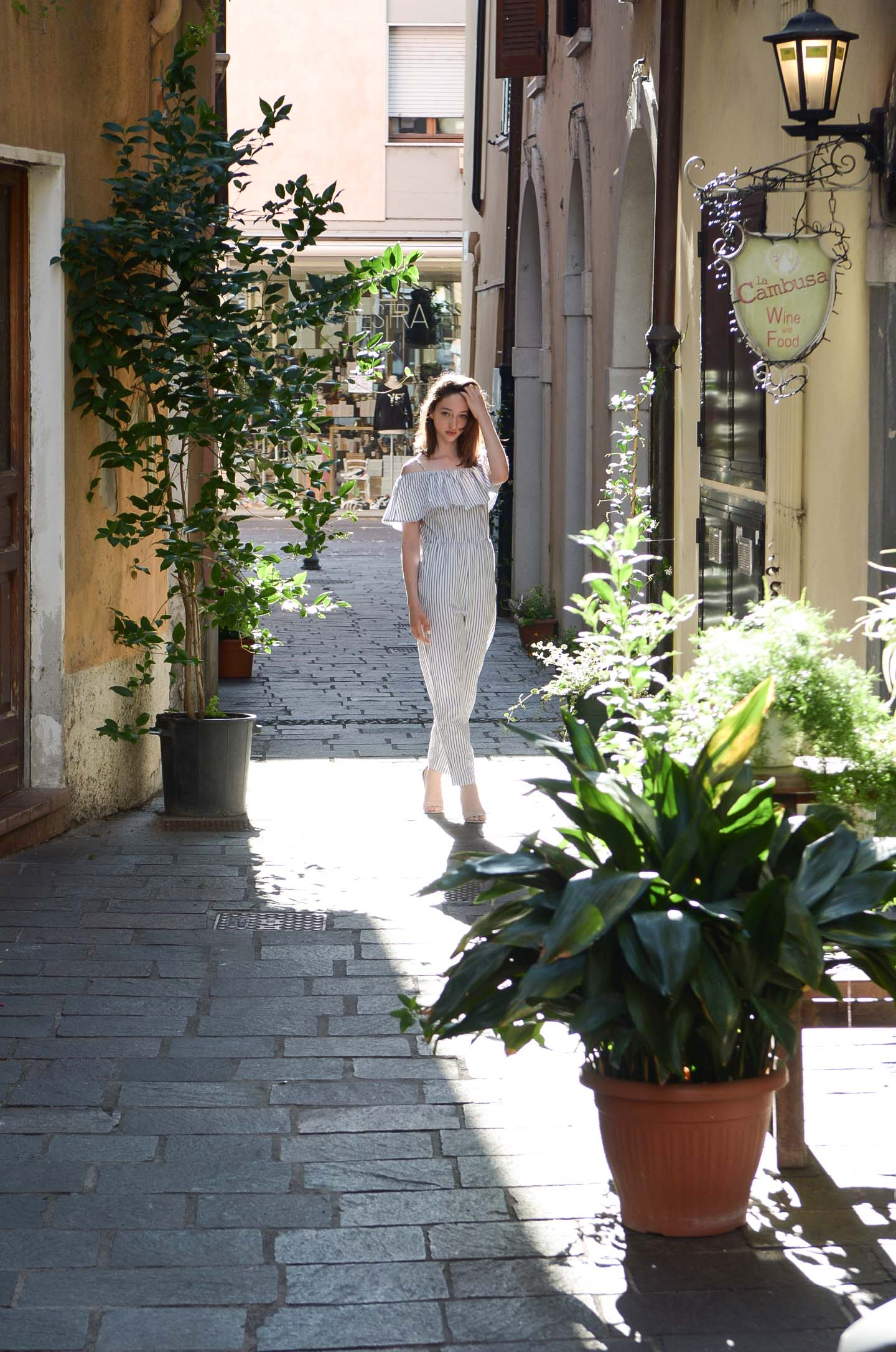 The second part of our vacation was spent in Garda lake, a gorgeous lake with beautiful small towns around it. We stayed in a small town called Desenzano, which was in a perfect location, with amazing beaches and a scenic lively down-town.