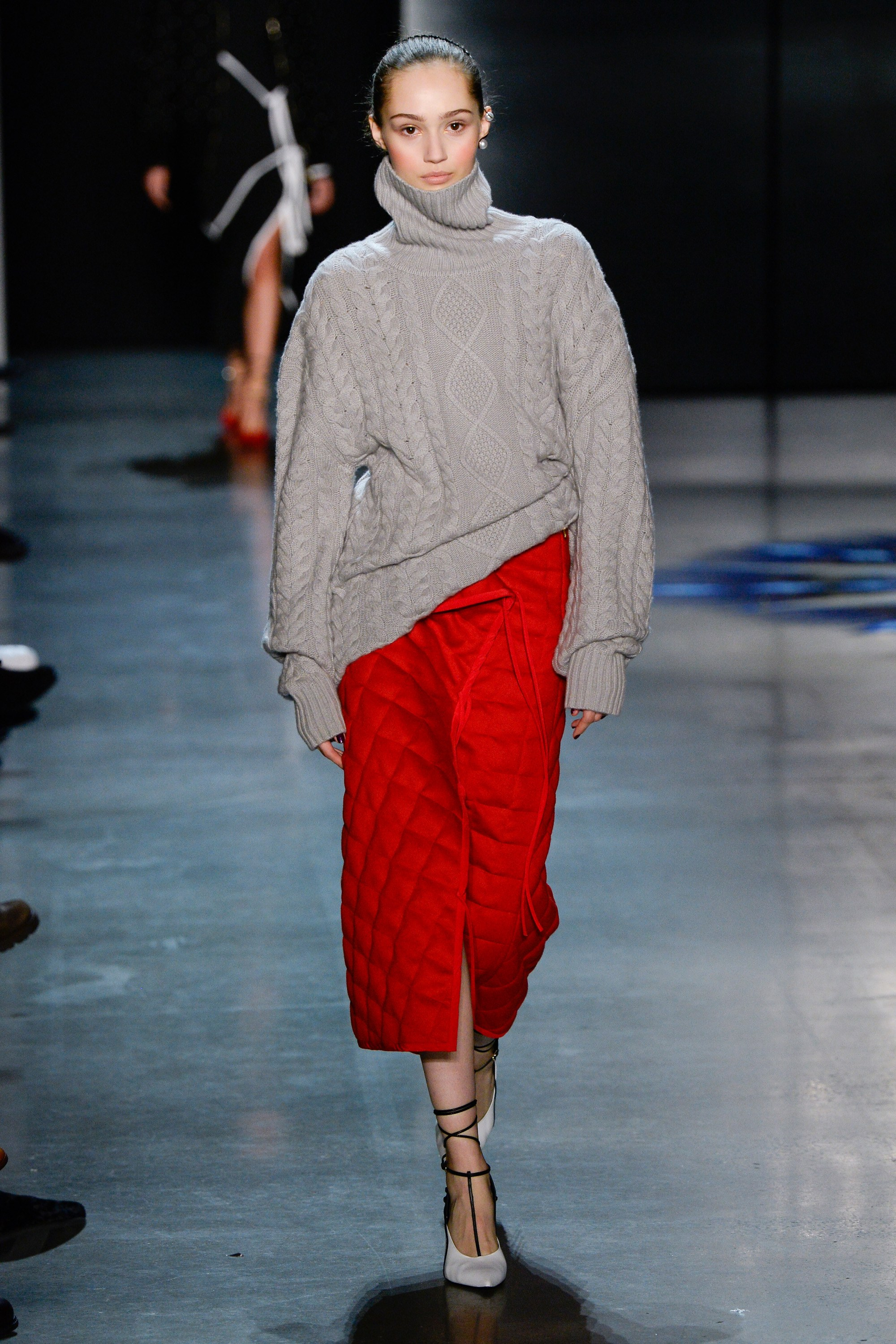 Parabel Gurung - Fascinating textures and fabric combinations.