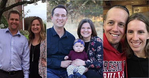 Leaders:  Casey & Crystal Courtright, Nick & Amy Motroni, Kirk & Kristin Warmerdam   Meet in:  West Roseville   Main Meeting Nights:  TBA