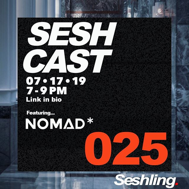 Happy Monday y'all! This week we welcome local DVINA resident Nomad ( @beats_bynomad ) to SESHCAST 024 with support from @dwrekofficial !! Tune in from 7-9pm PST - LINK IN BIO. 👻 #Seshling #seshcast