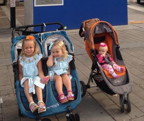 My all time favorite strollers....the Baby Jogger City Mini Single and Double Strollers. If you can't decide, go with these models.
