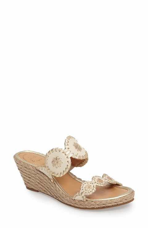 Jack Rogers Shelby Whipstitched Wedge