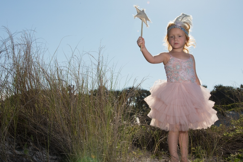 Fairy wands and feathered headbands! Outfit by Tutu Du Monde. Chad Martel Photography